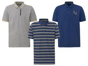 LIVERGY® Poloshirt Herren, hochwertige Pikee-Qualität, mit Baumwolle