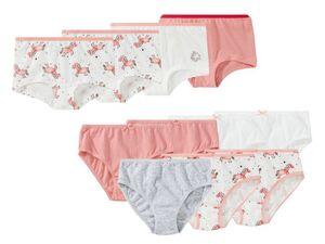 LUPILU® Mädchen Slip 7er Set / Panty 4er Set