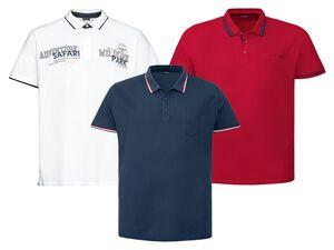 LIVERGY® Poloshirt Herren, klassischer Polokragen, in Pikee-Qualität, aus reiner Baumwolle