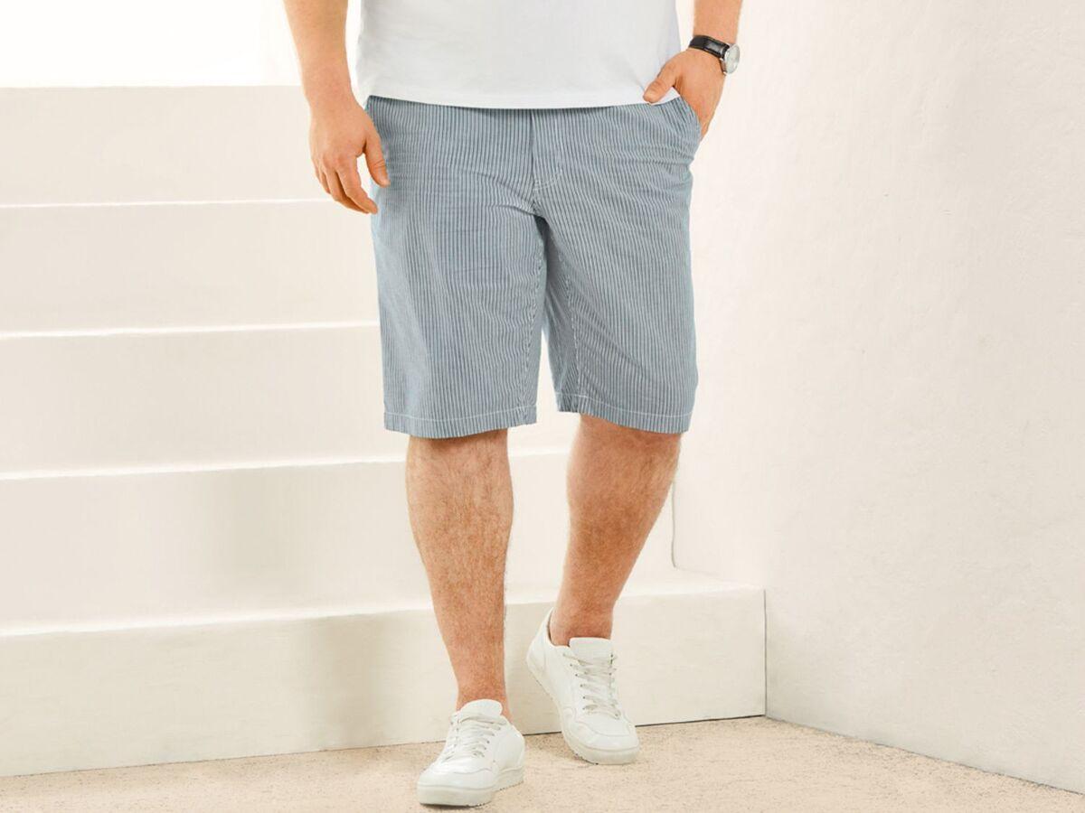 Bild 3 von LIVERGY® Shorts Herren, hochwertiger YKK-Markenreißverschluss, mit Baumwolle und Elasthan