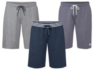 LIVERGY® Sweatbermuda Herren, seitliche Eingrifftaschen, mit Baumwolle