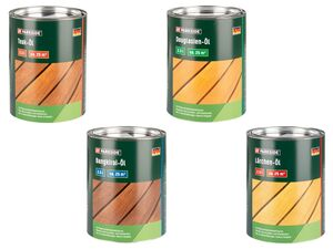 PARKSIDE® Teak-Öl/ Bangkirai-Öl/ Douglasien-Öl /Lärchen-Öl, 2,5 l Inhalt, für 25 m²