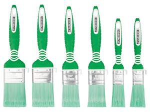 PARKSIDE® Flachpinsel Set, 6-teilig, geeignet für Lasuren, Lacke und Dispersionen