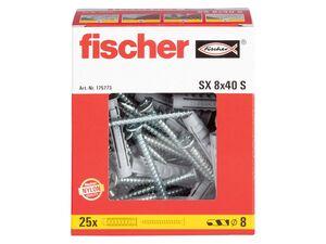 FISCHER Dübel/ Dübel-Schrauben Sortiment, SX 6/ SX 6 + Schrauben/ SX 8/ SX8 + Schrauben