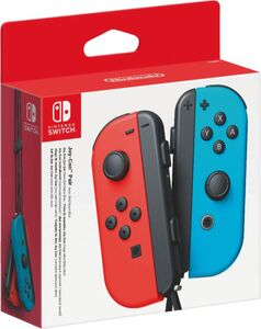 Nintendo Joy-Con 2er-Set Neon-Rot/Neon-Blau (Switch)