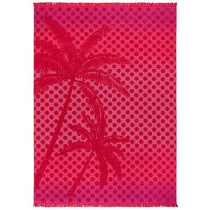 Strandtuch Noel in Pink ca. 140x200cm