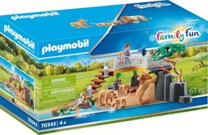 Playmobil® Erlebnis Zoo 70343 - Löwen im Freigehege
