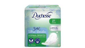 Duchesse Ultra-Binden Normal Sensitiv mit Flügeln & Aloe Vera