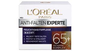 L'ORÉAL PARIS ANTI-FALTEN EXPERTE Nachtcreme 65+