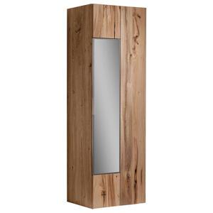 GARDEROBENSCHRANK Altholz, Eiche furniert, mehrschichtige Massivholzplatte (Tischlerplatte) geölt Eichefarben