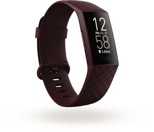 Fitbit Charge 4 rosewood Fitness Tracker (GPS, Herzfrequenzmessung, Schlafanalyse, Wasserabweisend, bis zu 7 Tage Akkulaufzeit)