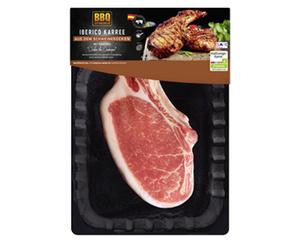 BBQ Karree vom Iberico Schwein