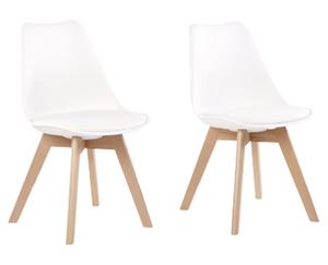 Living Style Design-Stuhl, 2er-Set