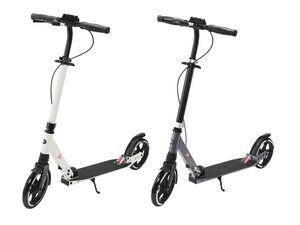 CRIVIT® Scooter »Big Wheel«, gefedert, Lenker höhenverstellbar, große Trittfläche