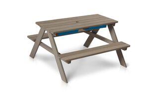 FLORABEST Kindersitzgruppe, Outdoor, 3-teilig, mit Spieltisch, ab 2 bis 7 Jahren