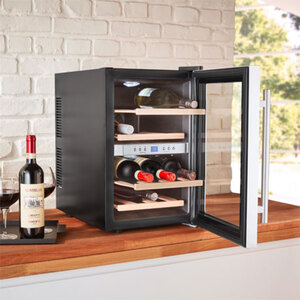Weintemperierschrank 12 Flaschen MD37450