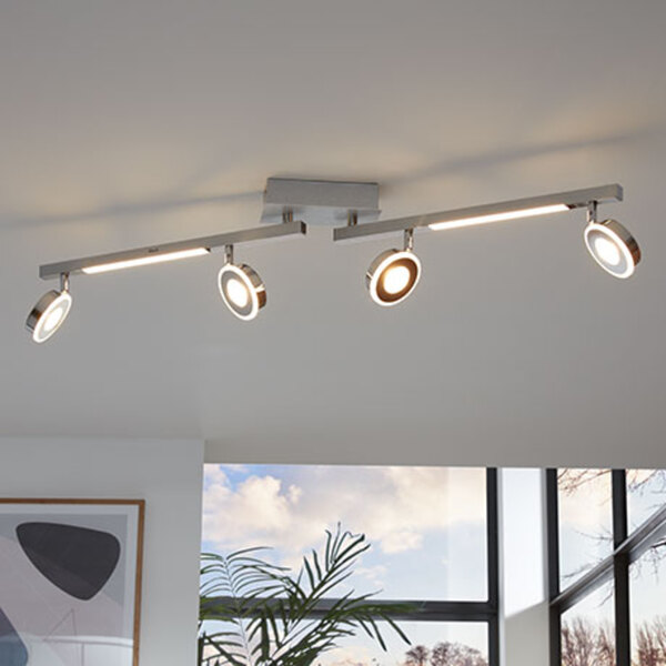 LED-Deckenschiene mit 4 LED-Modulen