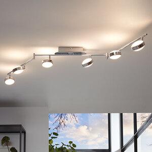 LED-Deckenschiene mit 6 LED-Modulen