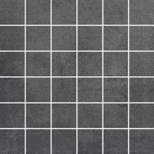 Vabene Mosaikfliese Pronto nero 30 x 30 cm, Abr. 4, R9, nero, matt