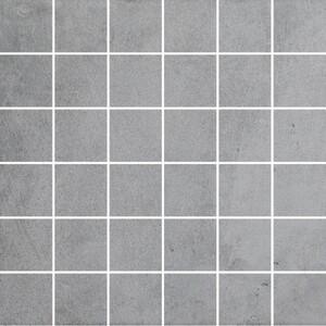 Vabene Mosaikfliese Pronto grey 30 x 30 cm, Abr. 4, R9, grey, matt