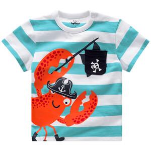 Baby T-Shirt mit Krabben-Print