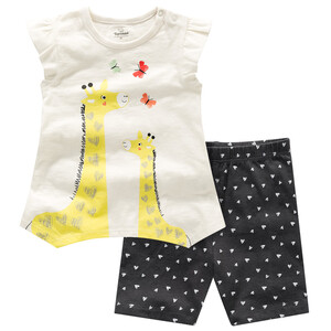 Baby T-Shirt und Radler