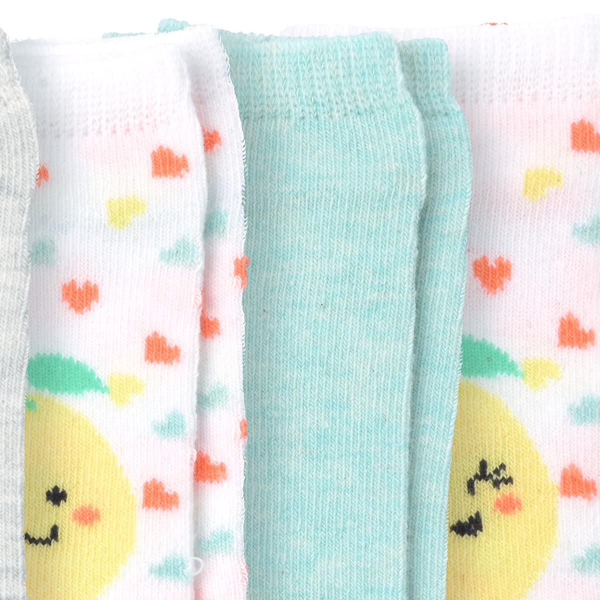 Bild 2 von 5 Paar Baby Sneaker-Socken im Set