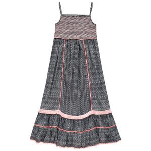 Mädchen Kleid mit Ethno-Muster