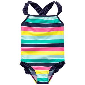 Baby Badeanzug mit Blockstreifen