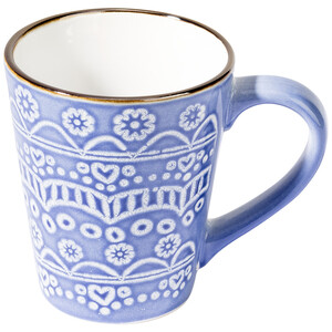 Tasse mit Allover-Muster