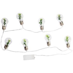 LED-Lichterkette mit 8 Glühbirnen