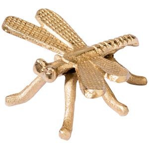 Dekofigur Libelle in Gold-Optik
