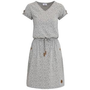 Damen Kleid mit Blümchen-Print