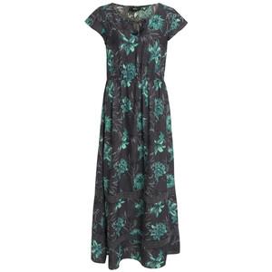 Damen Maxi-Kleid mit Flügelärmeln
