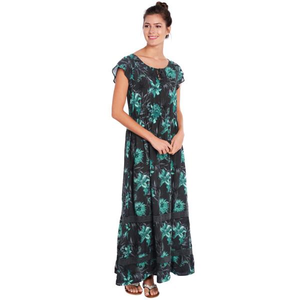 Damen Maxi-Kleid mit Flügelärmeln von Ernstings Family für ...