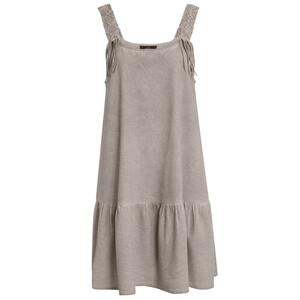 Damen Kleid mit Oil-Washed-Effekt