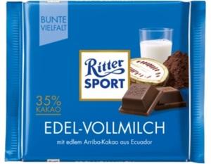 Ritter Sport Edel-Vollmilch 100 g