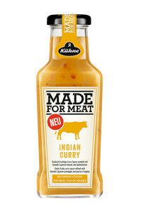 Kühne Würzsauce Made for Meat Indian Curry 235 ml