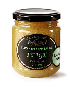 Wolfram Berge Tessiner Senfsauce Feige 200 ml