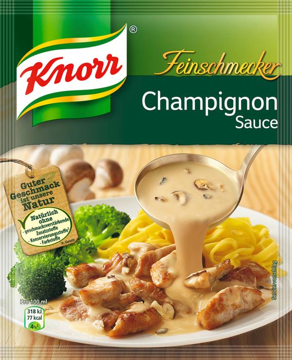 Knorr Feinschmecker Champignon Sauce 37 g