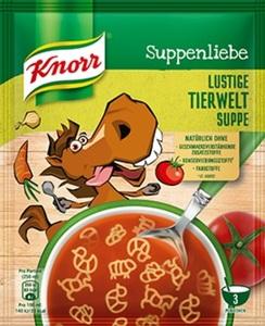 Knorr Suppenliebe Lustige Tierwelt Suppe 71 g