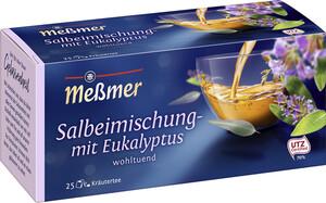 Meßmer Tee Salbei-Mischung mit Eukaliptus 25x 1,75 g
