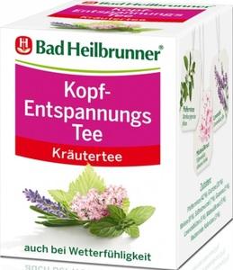 Bad Heilbrunner Kopf-Entspannungs Tee 8x 2 g