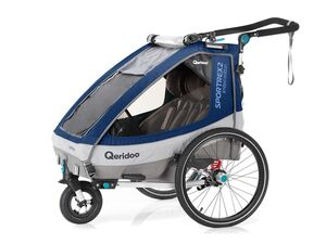 Qeridoo Fahrradanhänger Sportrex2 2020 Limited Edition