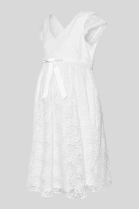 C&A Umstands-Hochzeitskleid, Weiß, Größe: 48