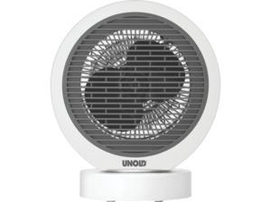 UNOLD 86130 Rondo Oszillierend Heizlüfter Weiß/Grau