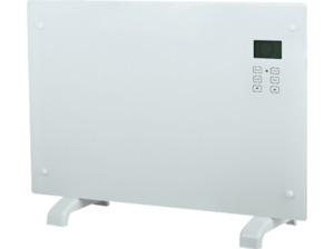 EL FUEGO AY 497 Glaskonvektor in Weiß