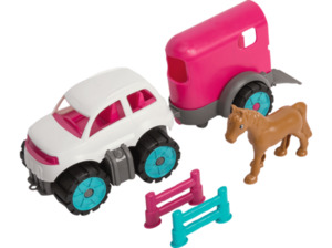 BIG BPW Mini Ponytransporter-Set Kinderspielzeug
