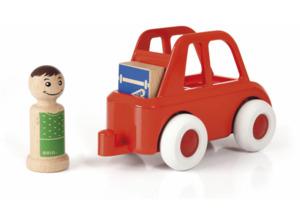 BRIO Rotes Stadtauto Mehrfarbig