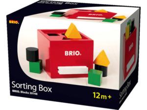 BRIO Rote Sortier-Box Spielset